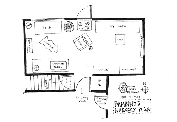 Furniture plan raised by design for Small daycare floor plans